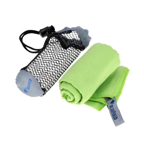 BLUEFIELD Seca-Rápido-Toallas De Microfibra Toalla Viajes Deportes Verde