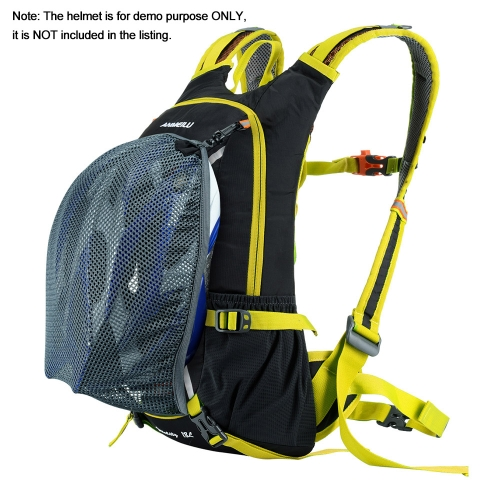 a7a316a64b Bike Backpack Lixada 18L Waterproof Breathable Bicycle Shoulder Backpack  for Outdoor Travel Riding Hiking Mountaineering Climbing with Rain Cover