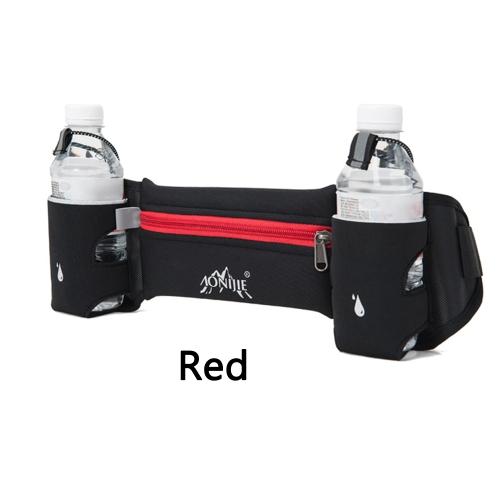 Esecuzione di sport Pack marsupio Unisex vita aderente leggera Fanny Pack con portabottiglie Dual