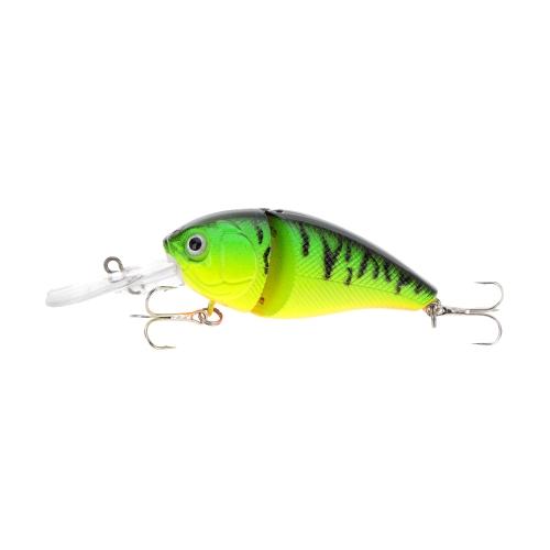 14g 8,5 cm 2 snodato pesca difficile vita-come attirare paffuto grasso Crank Bait Tackle con ancorette