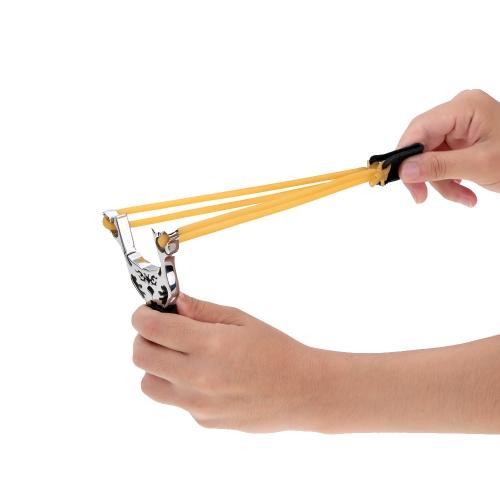 Outdoor Hunting Marble Games Slingshot Catapult