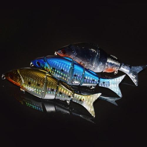 "12.5cm / 5"" 21g Bionic Multi Jointed Fishing Lure Lifelike Hard Bait Swimbait thumbnail"