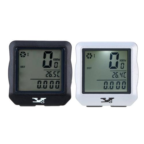 Wireless Bike Bicycle Cycling Computer Odometer Speedometer Stopwatch Backlight Backlit Water-resistant Multifunction