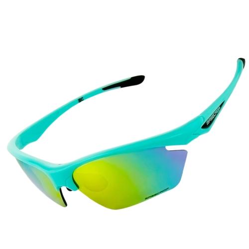 Image of Basecamp Radfahren Outdoor Sports Polarisiert Sonnenbrille Fahrrad Rad Radfahren Brille Leicht TR90 Rahmen Brille Brille 5 Objektiv UV400