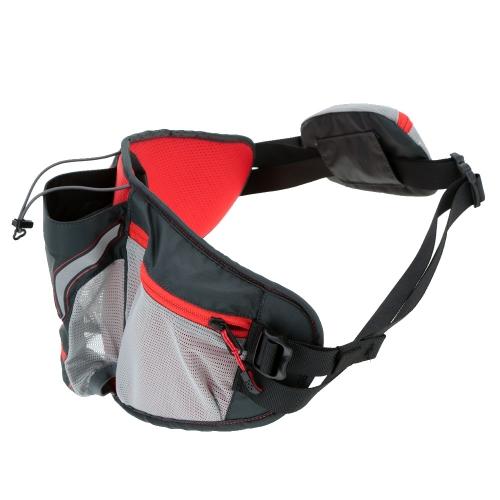 Viaje de múltiples funciones al aire libre bicicleta paquete de la cintura con el sostenedor de botella de agua