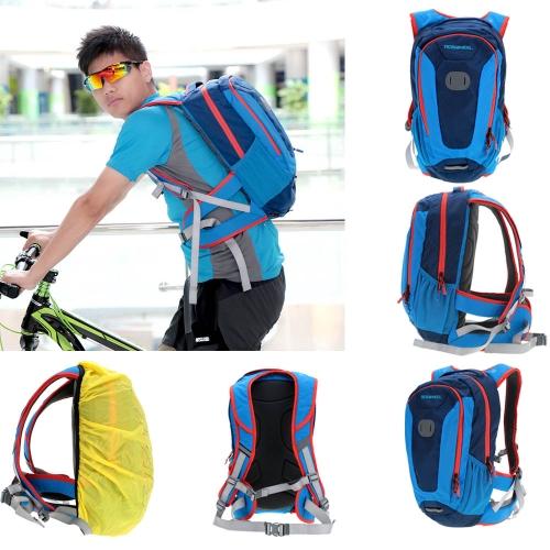Viaggio all'aperto di 18L escursionismo bicicletta ciclismo zaino con parapioggia
