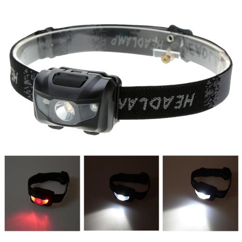 Ligero linterna resistente al agua 3W LED pesca luz iluminación exterior LED linterna Camping