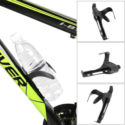 Fibra di Carbonio MTB Matte di Acqua della Bicicletta della Bottiglia del Supporto della Gabbia con le Viti