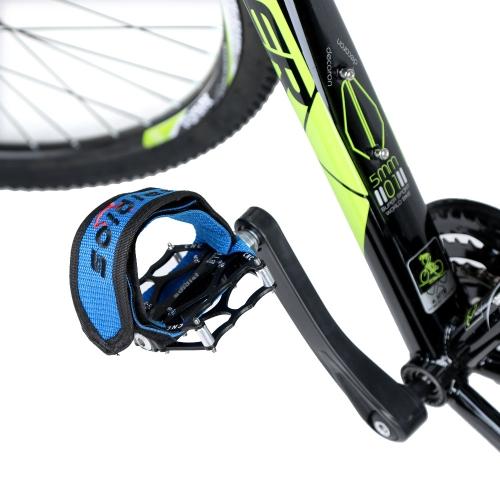 1 Pcs Fixed Gear Fixie BMX Bike Bicycle Anti-slip Double Adhesive Straps Pedal Toe Clip Strap Belt