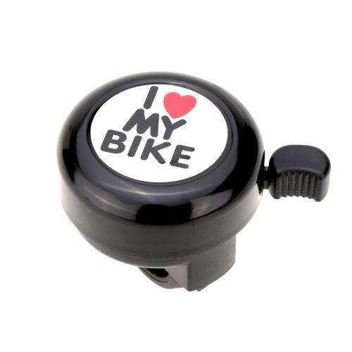 I Love My Bike Stampato Suono Chiaro Allarme di Bici Carino Campanello d'Allarme Accessorio di Bicicletta