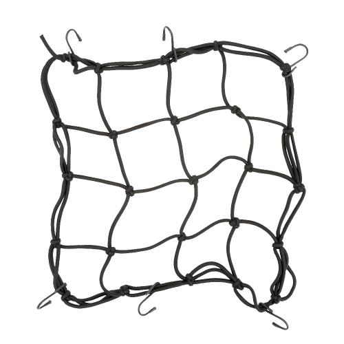 Motorrad Fahrrad Cargo Net elastische Gepäck Seil fester Helm Zubehör
