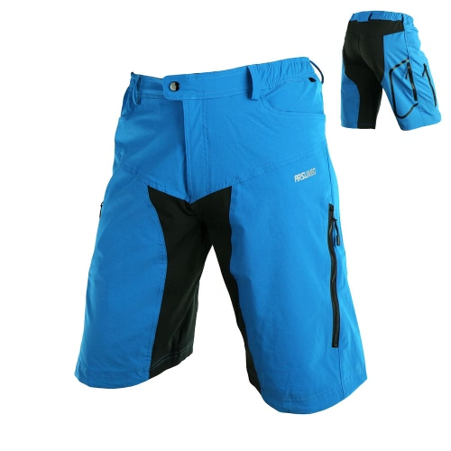 Arsuxeo Men Outdoor Quick-Dry Pants Sports Leisure Capri Breathable Wear-resistant Pants Climbing Cycling Pants