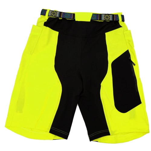 Lixada Men Outdoor Sports Leisure Capri Shorts Climbing MTB Bicycle Cycling Pants