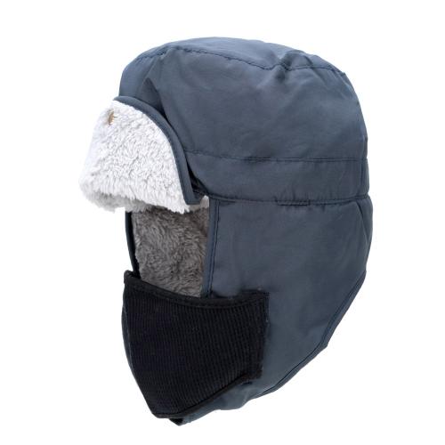 Inverno all'aperto costine cappello termico orecchio lembi termico imbottito caldo cappello antivento cappello sci cappello Unisex