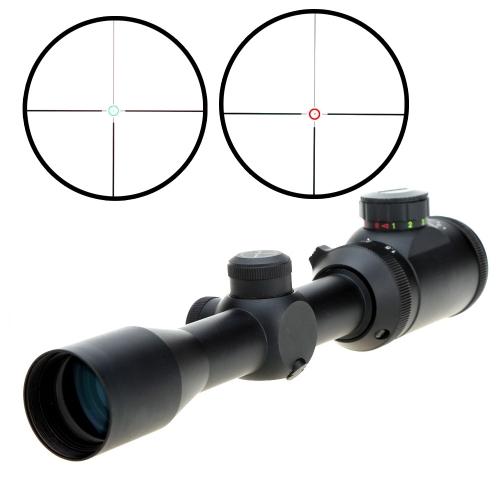 Visionking 1,5-5X32GL illuminato rosso verde Dot mirino per la caccia