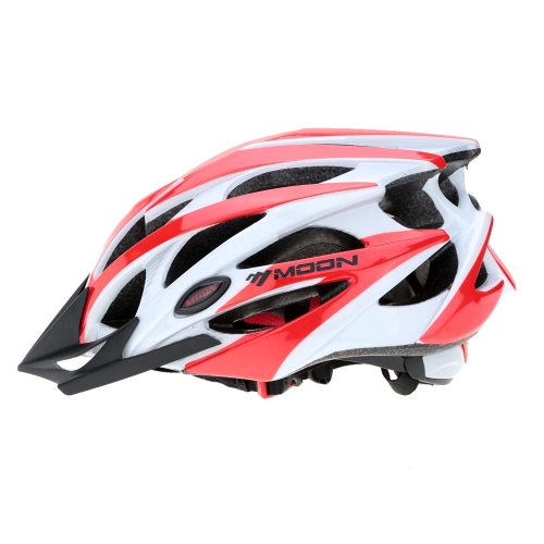 Moon 25 Air Vents Ultralight Integrally-molded EPS Bicycle Helmet for Cycling Road Mountain MTB Bike