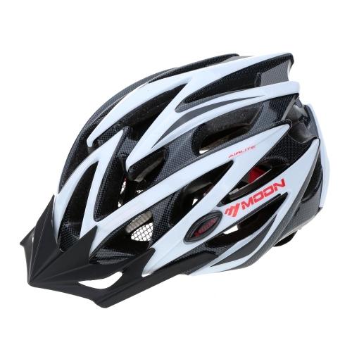 サイクリング道路山 MTB 自転車 25 空気通気口一体成型の超軽量 EPS 自転車ヘルメットを月します。