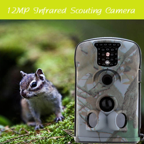 Tragbare Wildlife Jagd Kamera 12MP HD Digital Infrarot Scouting Trail Kamera 940nm IR LED Video Recorder Regen-Beweis