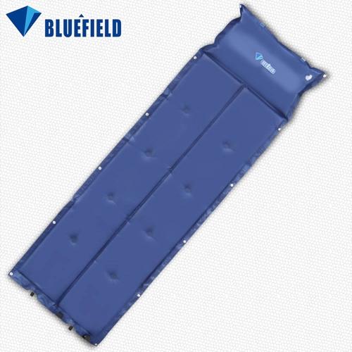 BlueField all'aperto spessore automatico gonfiabile materassino da campeggio autogonfiabili stuoia a prova d'umidità tenda pieghevole stuoia con cuscino