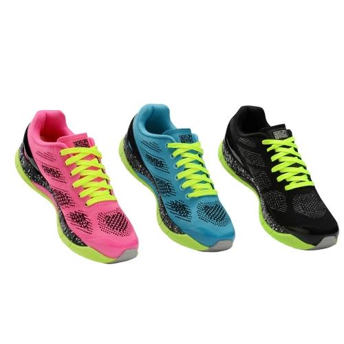 BMAI Casual traspirante Mesh evitante torsione esterna Sneakers Lightweight sport scarpe da Running per le donne