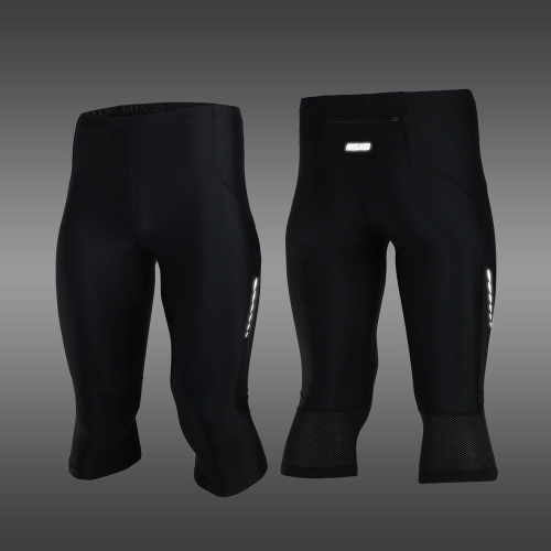 ARSUXEO Strecken atmungsaktiv schnell trocknend Compression Shorts Herren Radsport Running Tights kurz 3/4 lang Pants