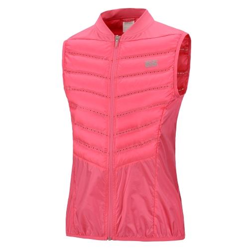 BMAI Sport corsa giacca leggera Professional giù Gilet conveniente tenere caldo inverno per le donne