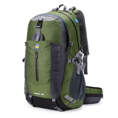 40L impermeable al aire libre deporte viaje mochila montañismo Camping senderismo mochila con protector de lluvia