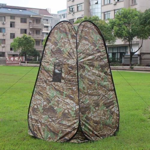 Портативный конфиденциальности душ туалет палатка шипучку вверх по палатке камуфляж, изменяя палатка для кемпинга