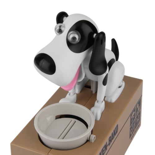 Modelo lindo del perro Piggy Bank Money Save Pot Coin Box regalo creativo