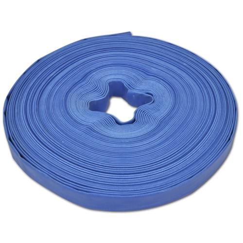 Tubo d'acqua piatto 50 m in PVC 25 mm