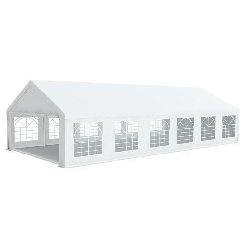 Chapiteau tente de réception 6x12m PREMIUM Plus PVC 500g/m² tubes 50mm haut. 2m20