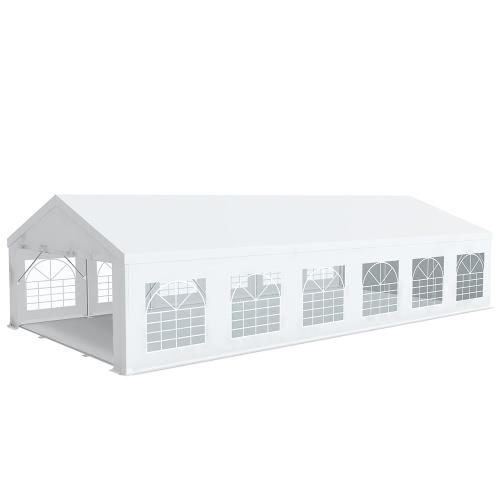 Tente de réception Pro 6x12m PREMIUM Plus     PVC 520g/m² tubes 76mm