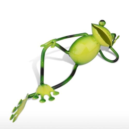 Tooarts Nap Frog Animal Sculp Home Decor