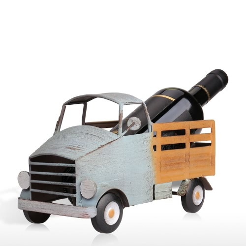 Tooarts Pickup Truck Wine Rack Práctica Sculp Home Decor