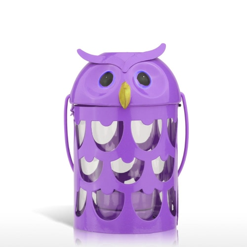Tooarts Owl Candle Holder Practical Ornament Home Decor