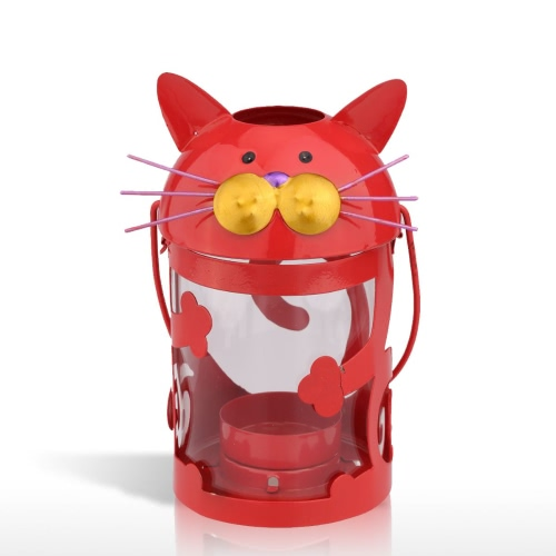Tooarts Cat Candle Holder Practical Ornament Home Decor