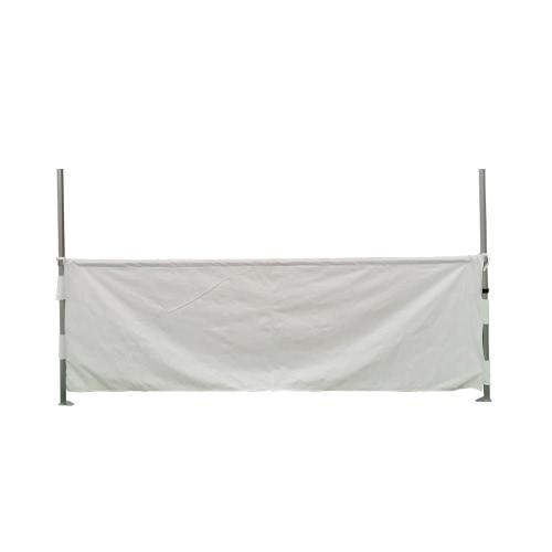 Halbes Vorhang 3m für Faltpavillon Verbindung 40mm