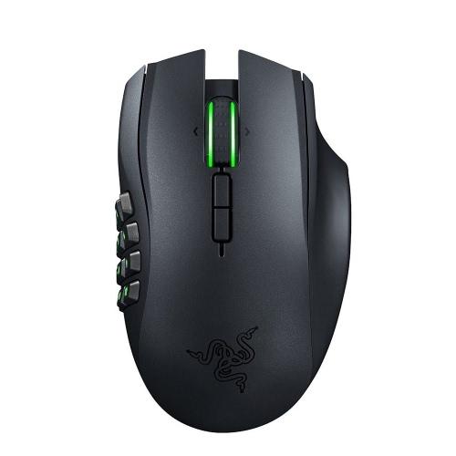 Razer Naga Epic Chroma Multi-Color Wireless MMO Gaming Mouse z 19 przyciskami i 8200 dpi (RZ01-01230100-R3U1)