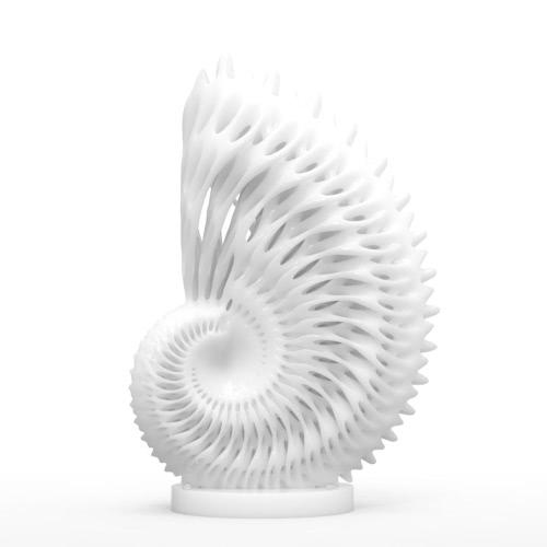 Tomfeel Nautilus 3D Imprimé Sculpture Décoration intérieure