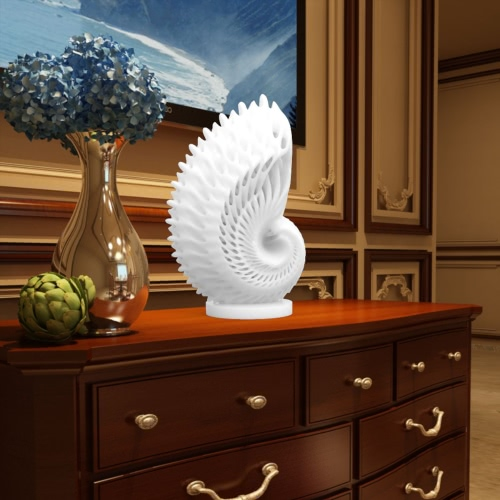 Nautilus 3D Printed Sculpture Home Decoration Tomfeel