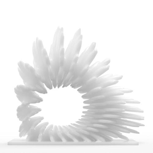 Tomfeel Flowery Coral 3D Imprimé Sculpture Design original