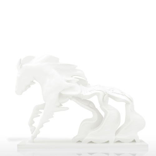 Tomfeel Horse Race Against Time 3D Sculpture imprimée Design original