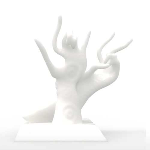 Tomfeel Reflexión de la mano Escultura impresa 3D Diseño original