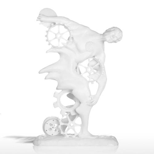Tomfeel Discobolus Seneca 3D Impreso Escultura Diseño Original