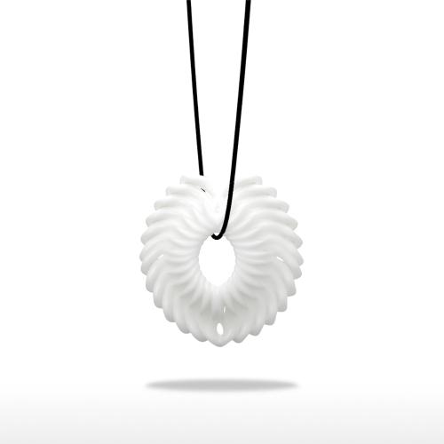 Pendentif en fleur Tomfeel Pendentifs en caoutchouc imprimé 3D Modèle original Modèle unique