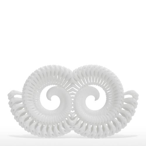 Tomfeel Escultura Impresa en 3D Espiral Simplificado Diseño Original