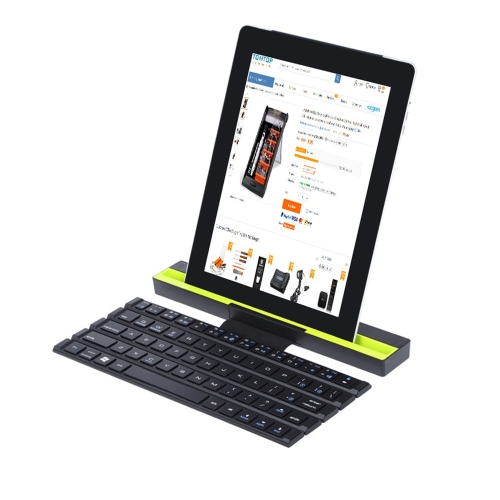 R4 Foldable BT Keyboard with LED Light