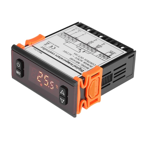 10A 90-250V regolatore di temperatura digitale LED