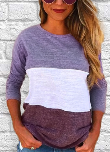 Casual Women Patchwork...