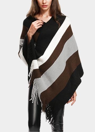 Fashion Women Stripe...